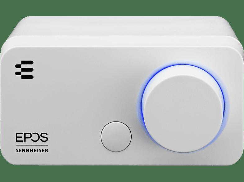 EPOS GSX 300 Audioverstärker Snow Edition, externe Soundkarte