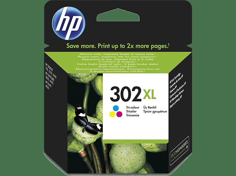HP 302XL Cyaan - Magenta - Geel (F6U67AE#UUS)