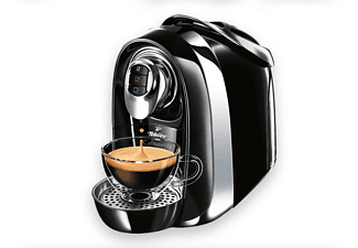 TCHIBO CAFISSIMO Compact + 30 Kapseln (Espresso und Caffè Crema) Kapselmaschine Schwarz