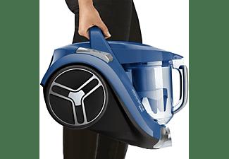 Aspirador sin bolsa - Rowenta Compact Power XXL RO4881, 550W, Depósito 2.5l, Filtro HEPA, A+, Radio 8.8m, Azul