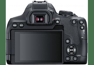 Cámara réflex - Canon EOS 850D, 24.1 MP, 25 fps 4K, WiFi, 18-55mm, Negro