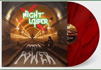 Night Laser - Power To Power (Ltd.Red Marble LP+MP3)  - (LP + Download)