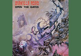 Manilla Road - OPEN THE GATES (SPLATTER)  - (Vinyl)