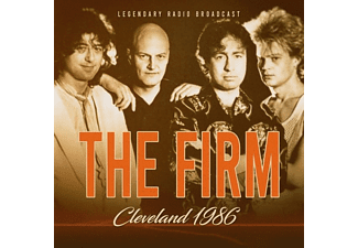 The Firm - Cleveland 1986  - (CD)
