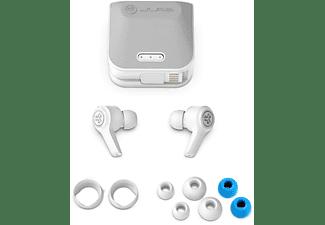 JLAB JBuds Air Executive, In-ear Kopfhörer Bluetooth Weiß
