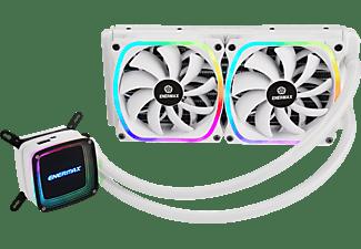 ENERMAX Aquafusion 240 Weiß RGB CPU Wasserkühler, Weiß