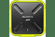Disco duro - ASD700-256GU31-CBK, 256 GB, 2.5, microUSB, SSD, Amarillo