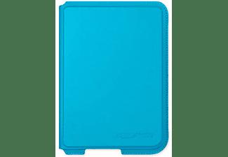 Funda eReader - Rakuten Kobo Nia SleepCover Aqua, Cuero artificial, Modo Suspención Automático, Azul