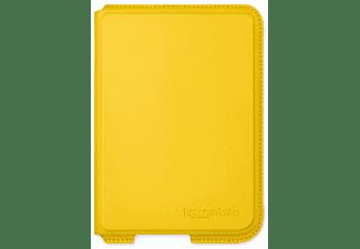 Funda eReader - Rakuten Kobo Nia SleepCover Lemon, Cuero artificial, Modo Suspención Automático, Amarillo