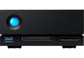 LACIE 1big Dock Festplatte, 4 TB HDD, extern, Schwarz