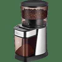 UNOLD 28915 Kaffeemühle Edelstahl/Schwarz (150 Watt, Kegelmahlwerk )