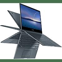ASUS Convertible ZenBook Flip 13 UX363EA-EM047T, i7-1165G7, 16GB/1TB, 13.3 Zoll Touch FHD, Grau (90NB0RZ1-M00730)