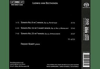 KEMPF,FREDDY &  BEETHOVEN,LUDWIG VAN - Klaviersonaten Nr. 8,14,23  - (SACD Hybrid)