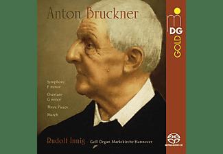 Rudolf Innig (orgel - BRUCKNER: EARLY ORCH.PIECES  - (SACD Hybrid)