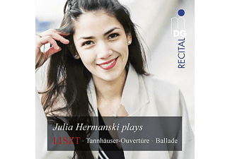 Julia Hermanski (piano) - LISZT: PIANO WORKS  - (SACD Hybrid)