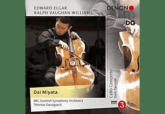 Dai Miyata (cello) - Bbc Scottish So - Cello Concerto e-moll op.85/Dark Pastoral  - (CD)