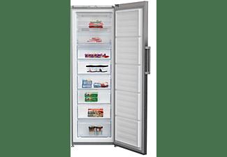 Congelador vertical - Beko RFNE312K31XBN, No Frost, 277 l, Inox