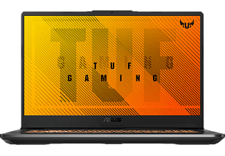 ASUS TUF Gaming A17 FA706IH-AU059T, Gaming Notebook mit 17,3 Zoll Display, Ryzen 5 Prozessor, 16 GB RAM, 512 GB SSD, GeForce GTX 1650, Bonfire Black