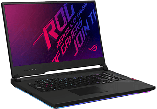 ASUS ROG Strix SCAR 17 G732LWS-HG096T, Gaming Notebook mit 17,3 Zoll Display, Core i9 Prozessor, 16 GB RAM, 1 TB SSD, 1 TB SSD, GeForceRTX™2070Super, Original Black