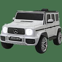 JAMARA Ride-on Mercedes-Benz AMG G 63 Modellfahrzeug, Weiss