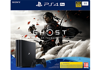 SONY Playstation 4 Pro 1TB + Ghost Of Tsushima