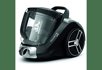 Aspirador sin bolsa - Rowenta Compact Power XXL RO4825, 550 W, Depósito 2.5 l, A+++, Radio 8.8 m, Negro