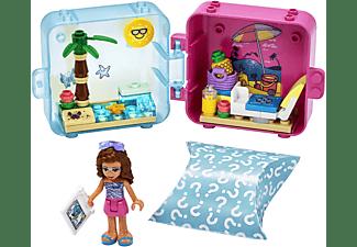 LEGO 41412 Olivias Sommer Würfel - Strandtag Bausatz, Mehrfarbig