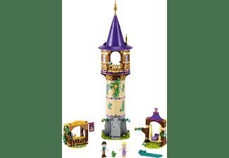 LEGO 43187 Rapunzels Turm Bausatz, Mehrfarbig