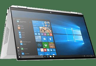 HP Spectre x360 13-aw0302ng, Convertible mit 13,3 Zoll Display, Core™ i5 Prozessor, 8 GB RAM, 512 GB SSD, Intel® Iris™ Plus Graphics, Silber