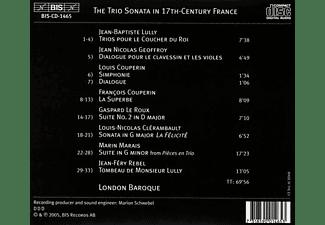 London Baroque - Die Triosonate In Frankreich im 17.Jahrhundert  - (CD)