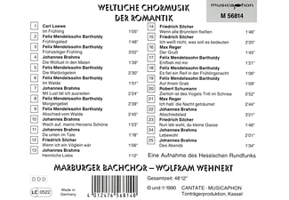 Wehnert Wolfram - Mundane Choir Music of the Rom  - (CD)