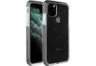 VIVANCO Rock Solid, Backcover, Apple, iPhone 11 Pro Max, Transparent/Schwarz
