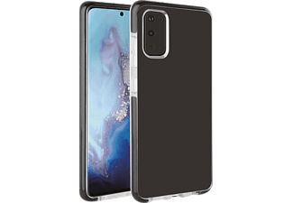 VIVANCO Rock Solid, Backcover, Samsung, Galaxy S20, Transparent/Schwarz