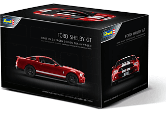 REVELL Adventskalender Ford Shelby GT Adventskalender, Mehrfarbig