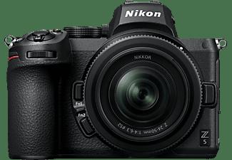 NIKON Z 5 Systemkamera mit Objektiv Z 24-50mm f4-6.3 Schwarz