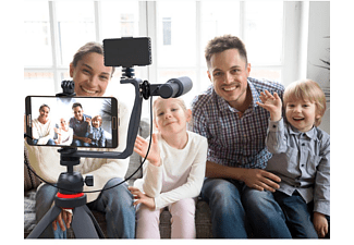 DIGIPOWER DPS-VLG5 Video Blogging Kit Schwarz