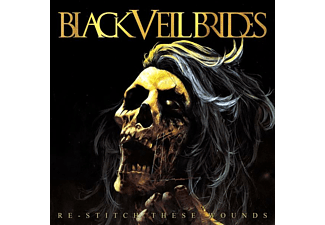 Black Veil Brides - RE-STITCH THESE WOUNDS (ULTRA CLEAR W/NEON YELLOW  - (Vinyl)