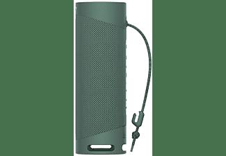 Altavoz inalámbrico - Sony SRSXB23G, Bluetooth, Extra Bass, Autonomía 12h, Resiste agua y polvo, IP67, Verde