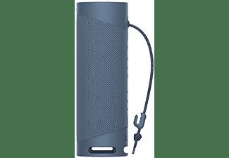 Altavoz inalámbrico - Sony SRSXB23L, Bluetooth, Extra Bass, Autonomía 12h, Resiste agua y polvo, IP67, Azul