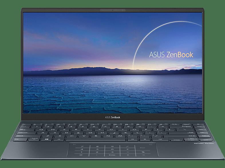 ASUS ZenBook 14 UX425EA-HM115T, Notebook mit Zoll Display, Intel Core i7 Prozessor, 16 GB RAM, 512 SSD, Intel Iris Xe Graphics, Pine Grey