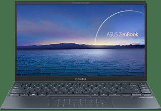ASUS Zenbook 14 EVO UX435EG-AI093T , Notebook mit 14 Zoll Display, Intel® Core™ i7 Prozessor, 16 GB RAM, 1 TB SSD, GeForce® MX450, Pine Grey