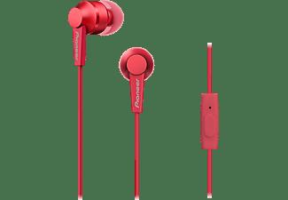 PIONEER SE-C3T, In-ear Kopfhörer Rot