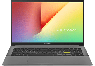 ASUS VivoBook S15 S533EA-BQ070T, Notebook mit 15,6 Zoll Display, Intel® Core™ i7 Prozessor, 16 GB RAM, 512 GB SSD, Intel® UHD Grafik, Indie Black