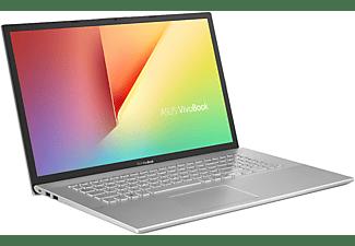 ASUS VivoBook S17 S712JA-AU053T, Notebook mit 17,3 Zoll Display, Intel® Core™ i5 Prozessor, 16 GB RAM, 512 GB SSD, Intel® UHD Graphics, Transparent Silver