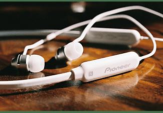 PIONEER SE-C7BT, In-ear Kopfhörer Bluetooth Weiß