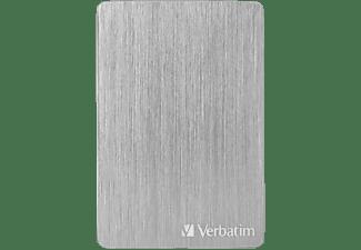 "VERBATIM Verbatim Store n Go 2.5"" ALU 2TB USB 3.2 Gen 1  Festplatte, 2 TB HDD, 2,5 Zoll, extern, Silber"