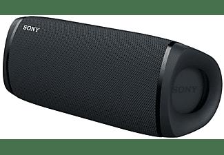 Altavoz inalámbrico - Sony SRSXB43B, Bluetooth, Extra Bass, 24h, Sumergible y resistente al polvo, NFC, Negro