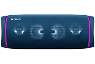 Altavoz inalámbrico - Sony SRSXB43L, Bluetooth, Extra Bass, Autonomía 24h, Resiste al agua, NFC, Azul
