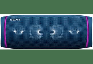 Altavoz inalámbrico - Sony SRSXB43L, Bluetooth, Extra Bass, 24h, Sumergible y resistente al polvo, NFC, Azul
