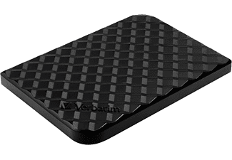 VERBATIM Store n Go 256GB Portable SSD USB 3.2 Festplatte, 256 GB SSD, extern, Schwarz